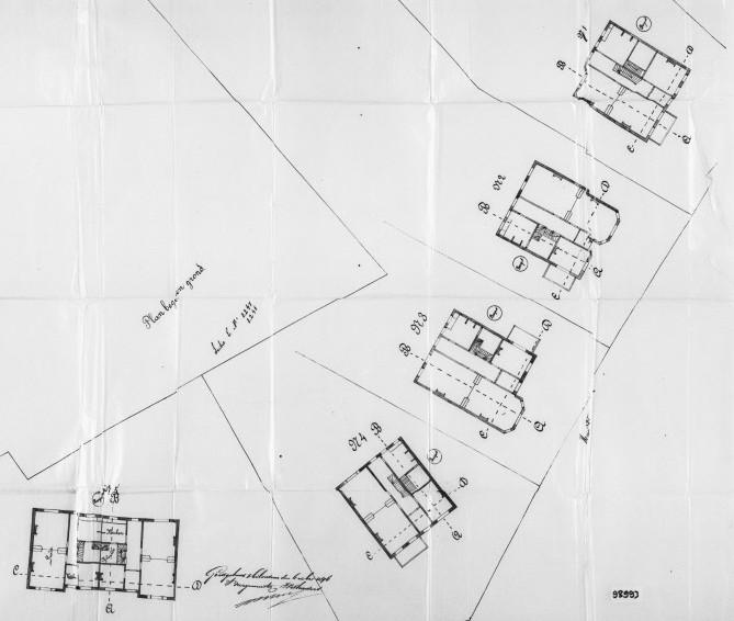 Heuvellaan+nr++1+tm+7++Hoge+Naarderweg+nr+22-24+1896+a