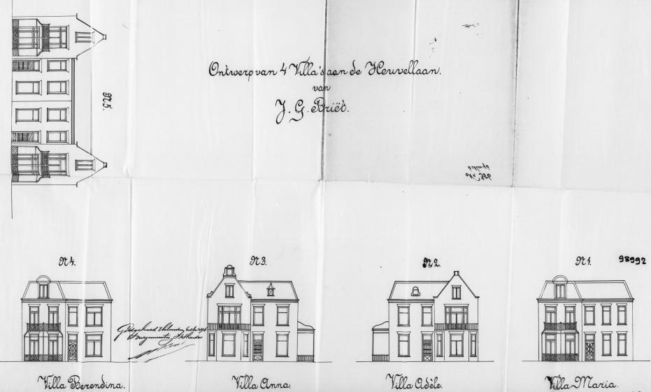 Heuvellaan+nr++1+tm+7++Hoge+Naarderweg+nr+22-24+1896+b