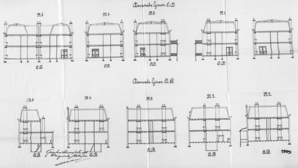 Heuvellaan+nr++1+tm+7++Hoge+Naarderweg+nr+22-24+1896