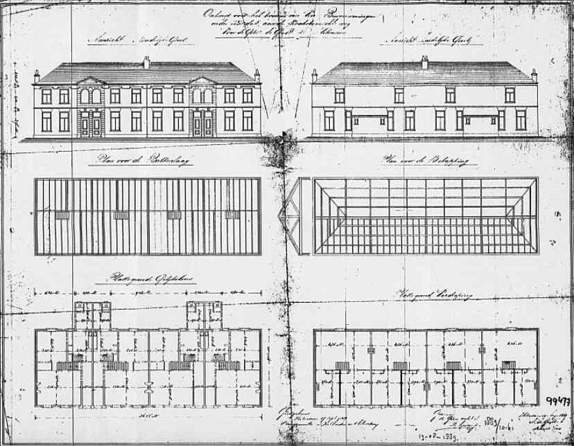 Koningsstraat+nr++31-33-35-37+1889