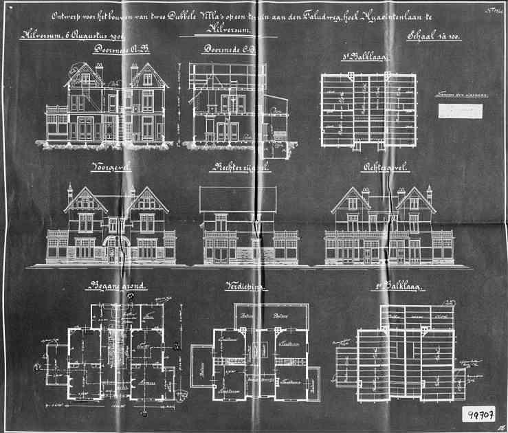 Hyacintenlaan+nr++3-5+Taludweg+nr+49-51+1906