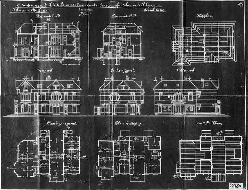 Emmastraat+nr+35-37+1905