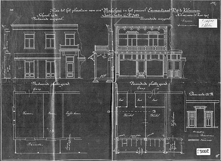 Emmastraat+nr+14+1907