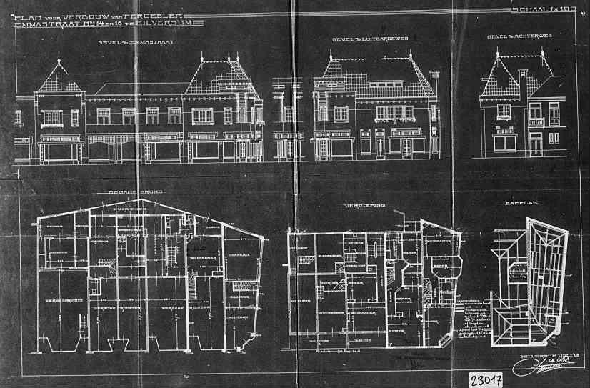 Emmastraat+nr+116+1929