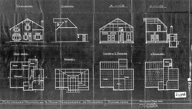 Hoge+Naarderweg+nr++41-43-45+1905