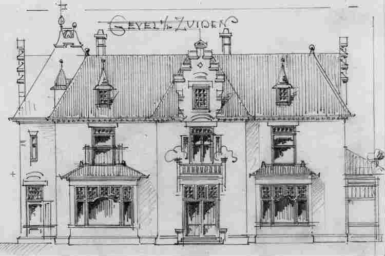 Heuvellaan+nr+32+1903+Zuidgevel