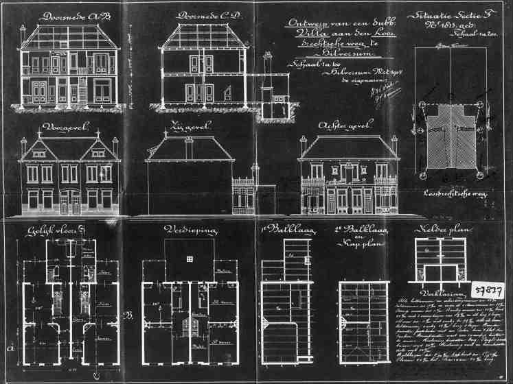Loosdrechtseweg+nr+100-102+1904