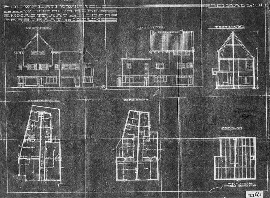 Emmastraat+nr++9a-9b-11+1931