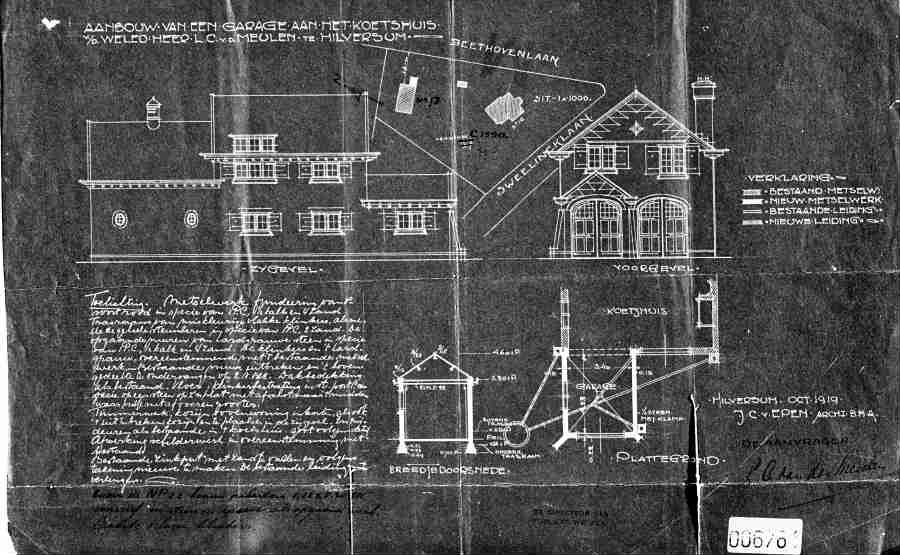 architect johannes christiaan van epen 1880 1960 amsterdam hilversum hilversum 2. Black Bedroom Furniture Sets. Home Design Ideas