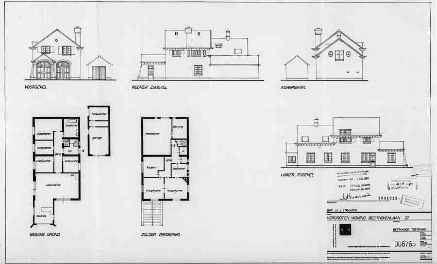 architectenbureau charles ren baddy hartman overleden 07 12 2011 en eylers hilversum 2. Black Bedroom Furniture Sets. Home Design Ideas